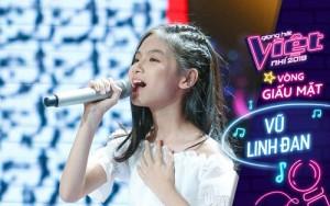 Vũ Linh Đan - cô học viên rụt rè của Young Beat chiếm trọn Spotlight tại cuộc thi The Voice Kids 2019