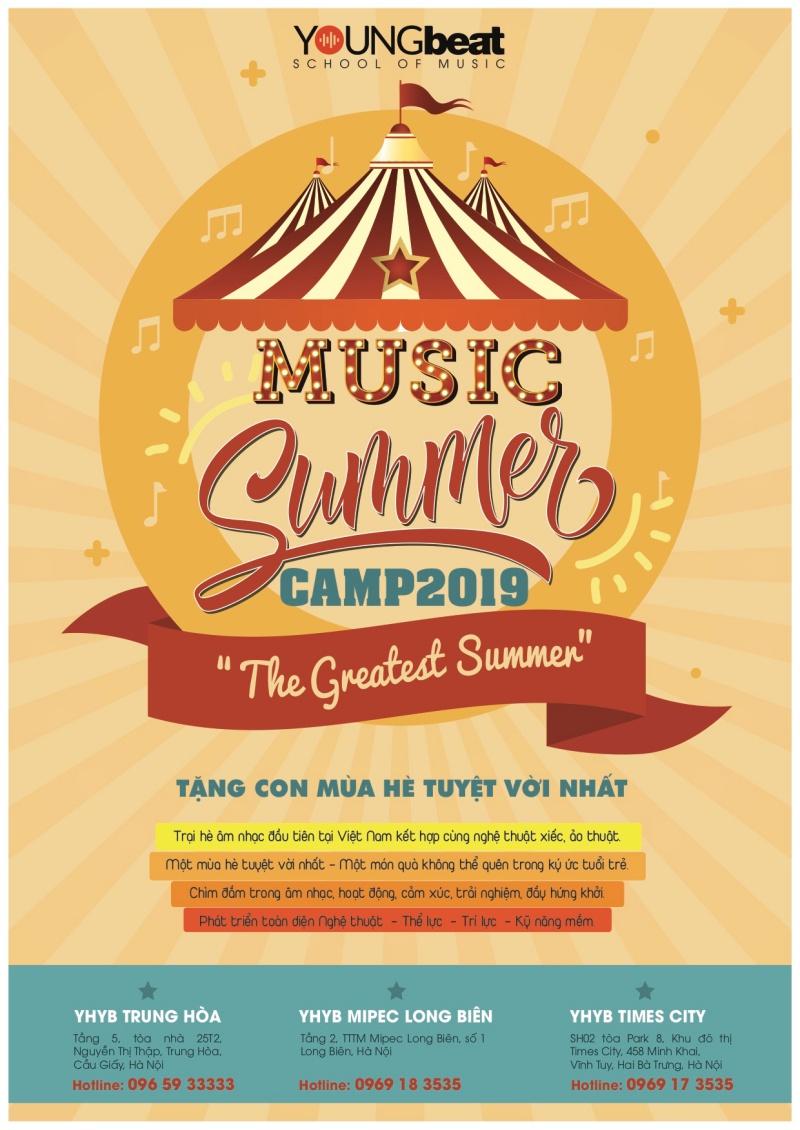 Cover trại hè âm nhạc 2019